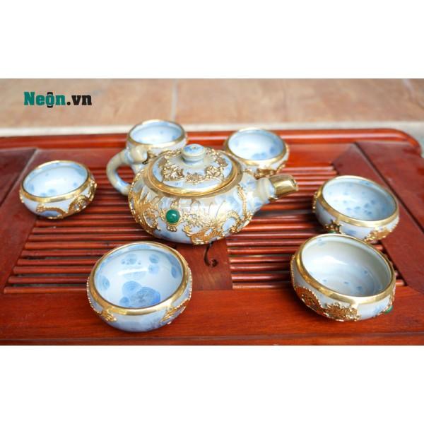 Bộ ấm chén uống trà Trung Quốc cao cấp AC35